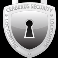 Cerberus Security locksmiths logo 1