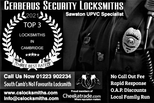 Best locksmith Sawston, Cambridge (CB22)